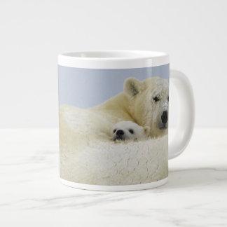 Canada, Manitoba, Wapusk National Park. Polar 8 Extra Large Mug