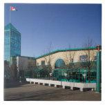 CANADÁ, Manitoba, Winnipeg: El mercado de las bifu Azulejo Cuadrado Grande