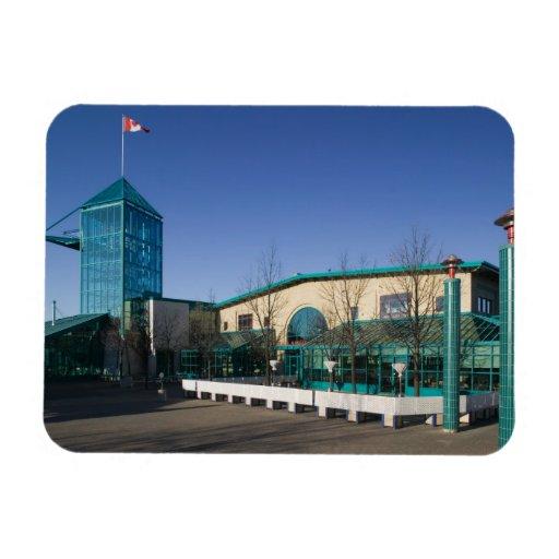 CANADÁ, Manitoba, Winnipeg: El mercado de las bifu Iman Rectangular