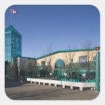 CANADÁ, Manitoba, Winnipeg: El mercado de las Calcomanías Cuadradass