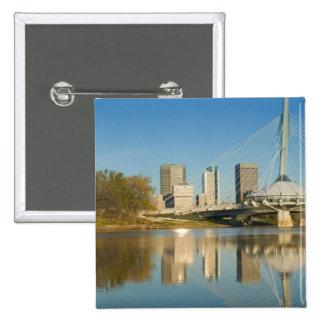 CANADA, Manitoba, Winnipeg: Esplanade Riel 2 2 Inch Square Button