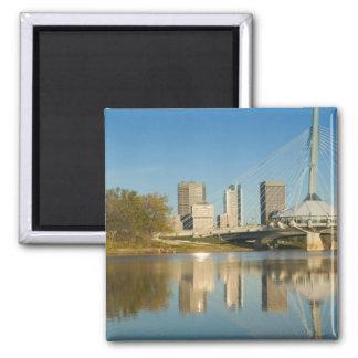 CANADA, Manitoba, Winnipeg: Esplanade Riel 2 2 Inch Square Magnet