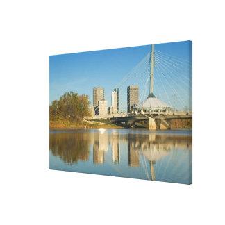 CANADA, Manitoba, Winnipeg: Esplanade Riel 2 Canvas Print