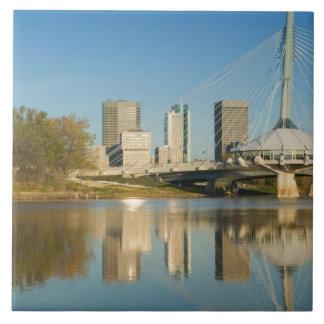 CANADA, Manitoba, Winnipeg: Esplanade Riel 2 Large Square Tile