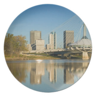 CANADA, Manitoba, Winnipeg: Esplanade Riel 2 Plate