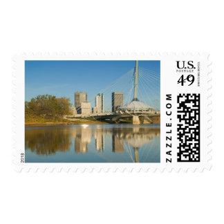CANADA, Manitoba, Winnipeg: Esplanade Riel 2 Postage Stamp