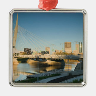 CANADA, Manitoba, Winnipeg: Esplanade Riel Metal Ornament
