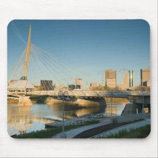 CANADA, Manitoba, Winnipeg: Esplanade Riel Mouse Pads