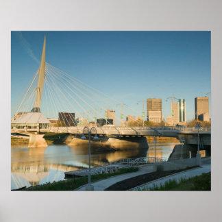 CANADA, Manitoba, Winnipeg: Esplanade Riel Poster