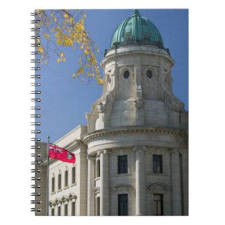 CANADÁ, Manitoba, Winnipeg: Las cortes de ley, Libros De Apuntes
