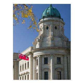 CANADÁ, Manitoba, Winnipeg: Las cortes de ley, Tarjetas Postales