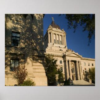 Canadá, Manitoba, Winnipeg: Manitoba legislativa Impresiones
