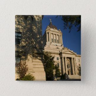 Canada, Manitoba, Winnipeg: Manitoba Legislative Button