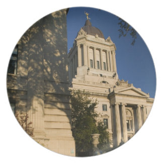 Canada, Manitoba, Winnipeg: Manitoba Legislative Plate