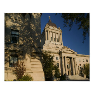 Canada, Manitoba, Winnipeg: Manitoba Legislative Poster