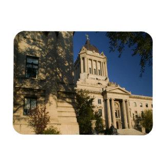 Canada, Manitoba, Winnipeg: Manitoba Legislative Rectangular Photo Magnet