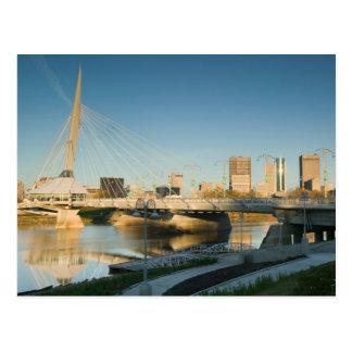 CANADÁ, Manitoba, Winnipeg: Riel de la explanada Tarjetas Postales