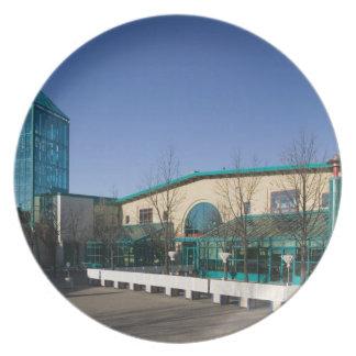 CANADA, Manitoba, Winnipeg: The Forks Market Melamine Plate
