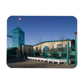 CANADA, Manitoba, Winnipeg: The Forks Market Rectangular Photo Magnet