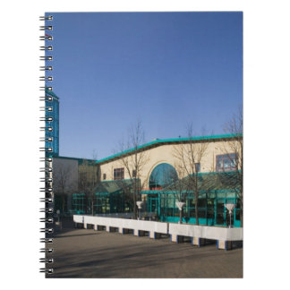 CANADA, Manitoba, Winnipeg: The Forks Market Spiral Notebook