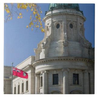 CANADA, Manitoba, Winnipeg: The Law Courts, Tile