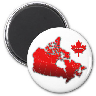 CANADA MAP MAGNETS