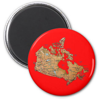 Canada Map Magnet