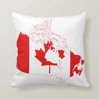 CANADA MAP THROW PILLOWS