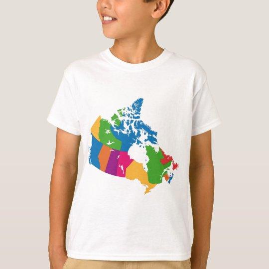 Canada map T-Shirt