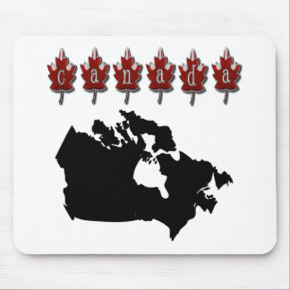 Canada Map T-Shirts Mouse Pad