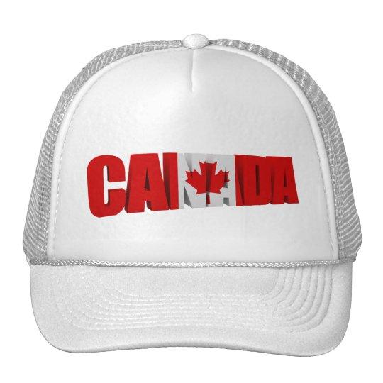 Canada Maple Flag Hats