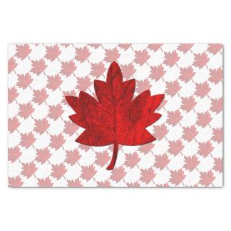 "Canada-Maple Leaf 10"" X 15"" Tissue Paper"