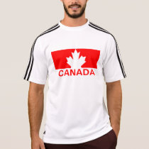 Canada Maple Leaf Adidas SS T-Shirt