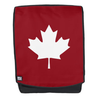 Canada Maple Leaf Backpack - Reverse Colors