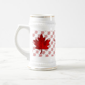 Canada-Maple Leaf Beer Stein
