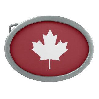 Canada Maple Leaf Belt Buckle