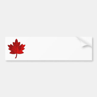 Canada-Maple Leaf Bumper Sticker Car Bumper Sticker