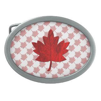 Canada-Maple Leaf by Shirley Taylor Belt Buckle