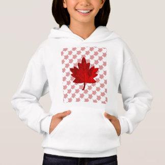 Canada-Maple Leaf by Shirley Taylor Hoodie