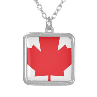 Canada Maple Leaf Canadian Symbol Personalised Necklace