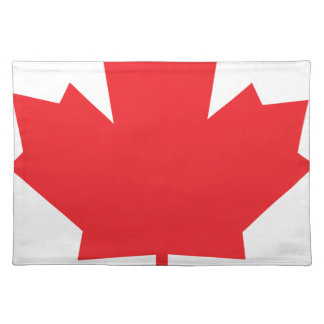 Canada Maple Leaf Canadian Symbol Place Mat