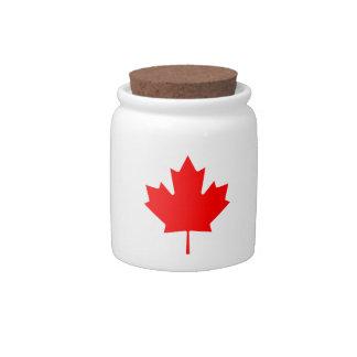 Canada Maple Leaf Candy Dish