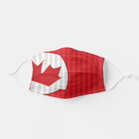 Canada Maple Leaf Cloth Face Mask