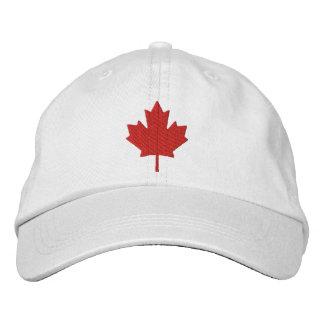 Canada Maple Leaf Embroidered Baseball Hat