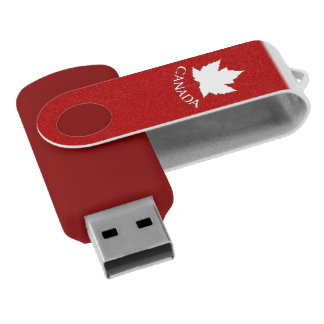 Canada Maple Leaf Flash Drive Souvenir