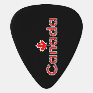 Canada Maple Leaf Guitar Pick