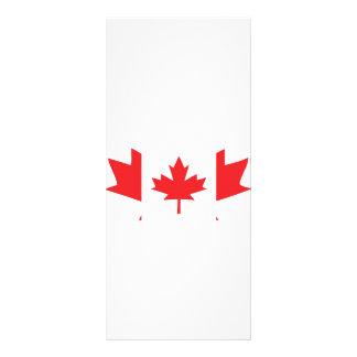 canada maple leaf icon rack card