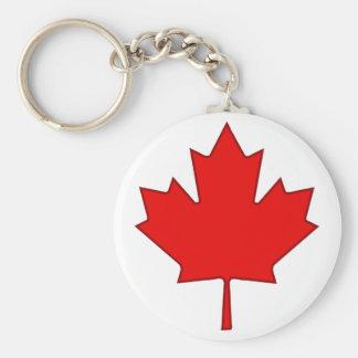 Canada Maple Leaf Keychain