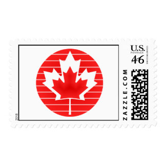 Canada Maple Leaf Lines Stamps