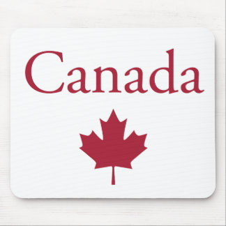 Canada + Maple Leaf Mouse Pad